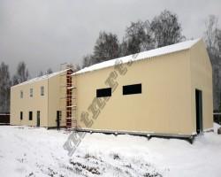Котельная ЛСТК 225 кв.м (Смоленская обл.)