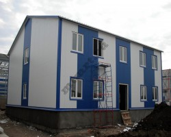 Быстровозводимое общежитие рабочих 840 кв м (Ленинский р-н МО)