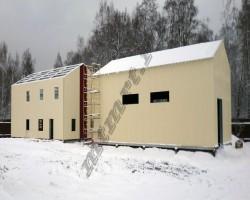 Быстровозводимое общежитие рабочих 400 кв м (Смоленская обл)