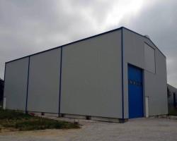 Быстровозводимый склад с кран-балкой (Псковская обл)