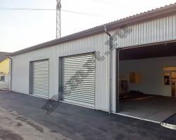 Быстровозводимое здание гаража (Волгоград)