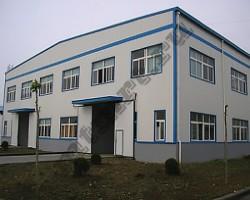 Двухэтажное быстровозводимое офисное здание